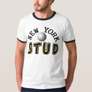 New York Golf Stud T-Shirt