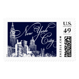 New York Gothan NYC | Atelier Isabey Stamps