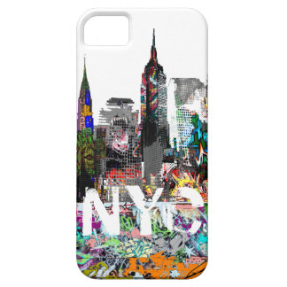 New York graffiti iPhone SE/5/5s Case