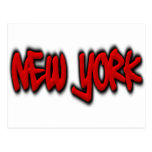 New York Graffiti Postcard