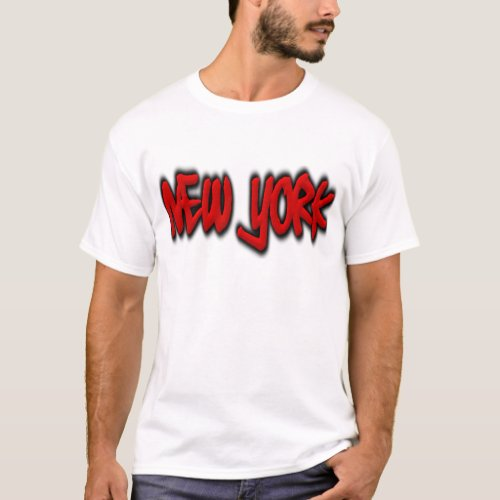 New York Graffiti T_Shirt