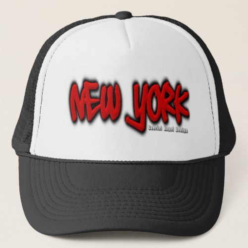 New York Graffiti Trucker Hat