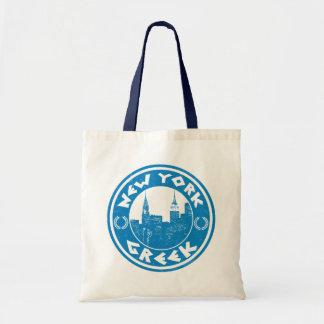 New York Greek American Grocery Bag