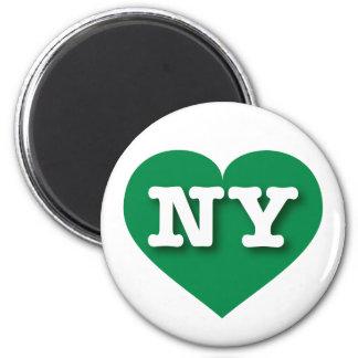 New York Green Heart - Big Love Magnet