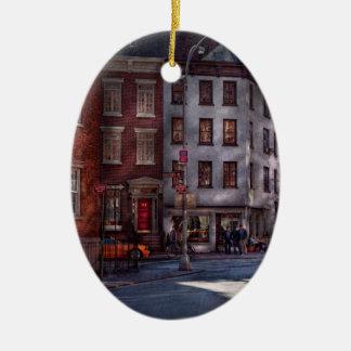 New York - Greenwich Village - Northern Dispensary Ceramic Ornament