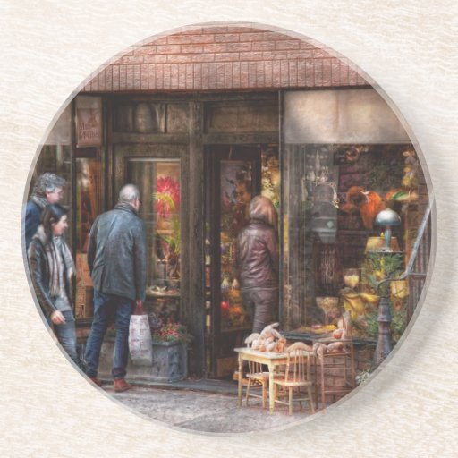New York - Greenwich Village - The gift shop Coasters