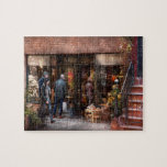 New York - Greenwich Village - The gift shop Jigsaw Puzzle