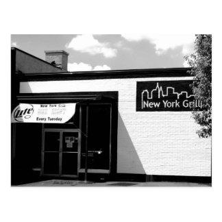 New York Grill Postcard