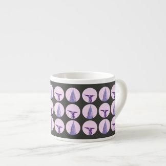 New York (Gunmetal) Espresso Mug