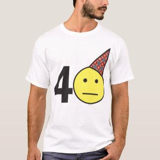 NEW YORK GUY: BIRTHDAY T - 40 T-Shirt