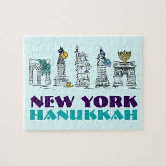New York Hanukkah Chanukah NYC Holiday Puzzle