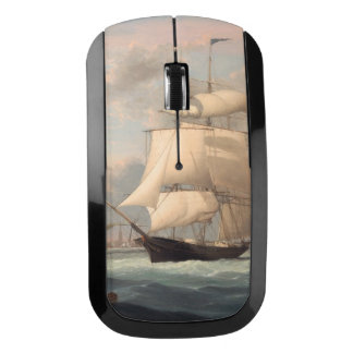 New York Harbor 1852 Wireless Mouse