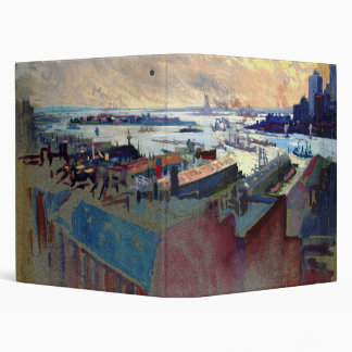 New York Harbor from the Margaret 1922 Binder