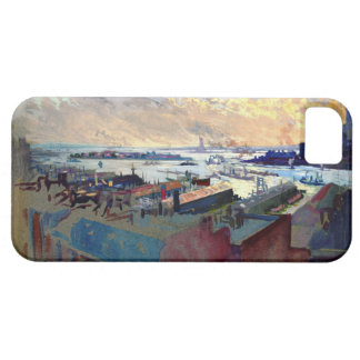 New York Harbor from the Margaret 1922 iPhone SE/5/5s Case