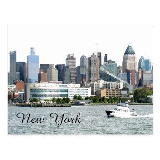 New York Harbor Postcard