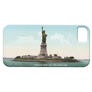 New York Harbor, Statue of Liberty iPhone SE/5/5s Case