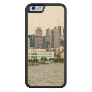 New York Harbor Carved® Maple iPhone 6 Bumper Case