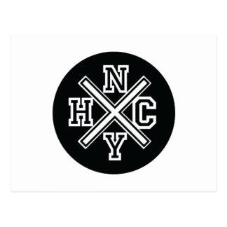 New York Hardcore Postcard