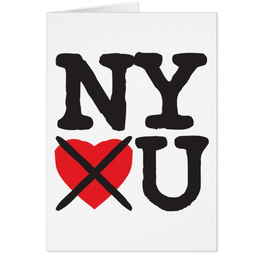 New York Hates You Card