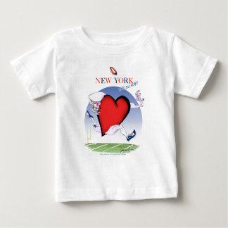 new york head heart, tony fernandes baby T-Shirt