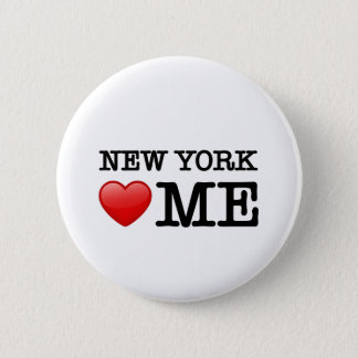 New York Heart ME Pinback Button