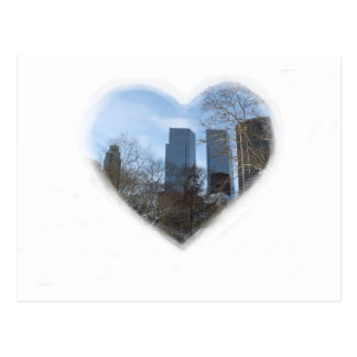 new york heart postcard