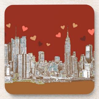 New York hearts Coaster