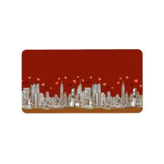 New York hearts Label