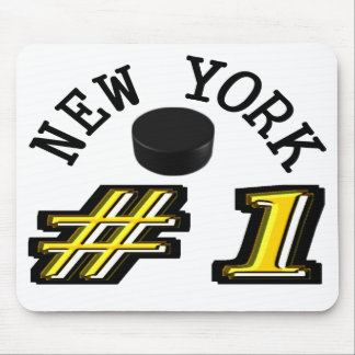 New York Hockey Number 1 Mouse Pad
