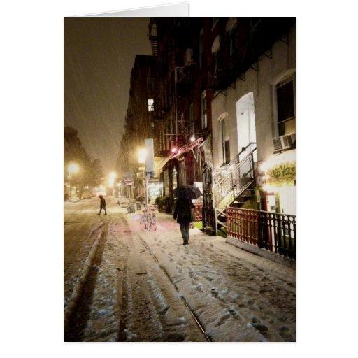 New York Holiday Card