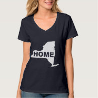 New York Home Away From Home T's Tees T-Shirts