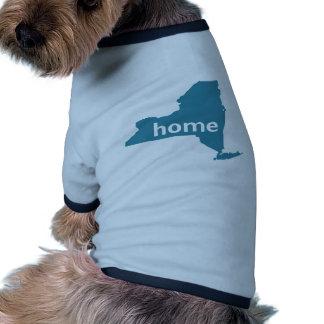 New York Home Dog Shirt