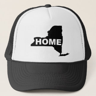 New York Home Hat Ball Cap Empire State