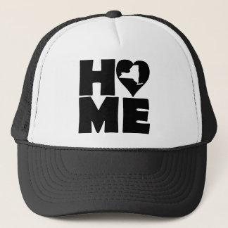 New York Home Heart State Ball Cap Trucker Hat