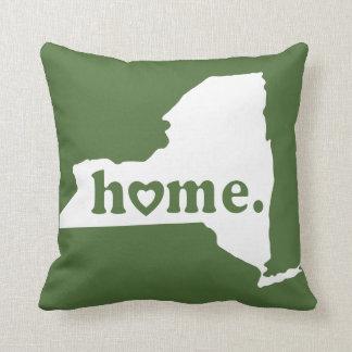 New York Home Throw Pillow