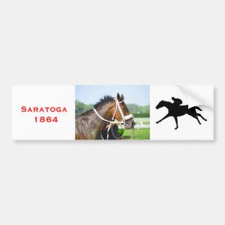 New York Horse Racing Bumper Stickers