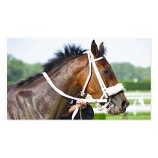 New York Horse Racing Business Card