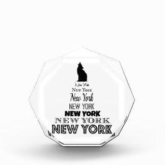 New York Howling, Dog Coyote, Wolf - I love NY Award