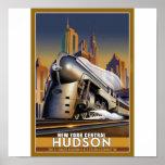 New York Hudson Loco Poster