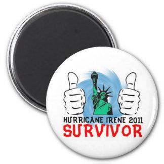New York Hurricane Irene 2011 Survivor Magnet