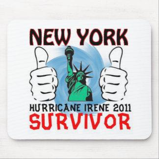 New York Hurricane Irene Survivor Mouse Pad