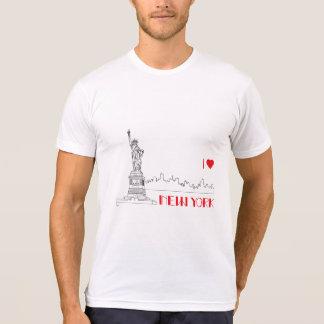 New-York, I Heart, Statue-of-Liberty Cool T-Shirt