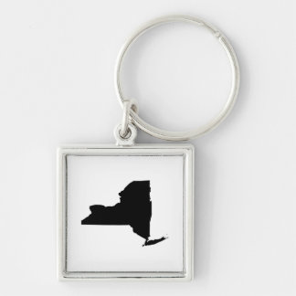 New York in Black and White Keychain