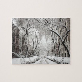 New York in Winter Jigsaw Puzzle