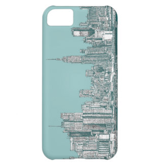 New York ink drawings Cover For iPhone 5C