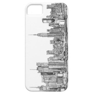 New York ink drawings iPhone SE/5/5s Case