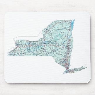 New York Interstate Map Mousepad
