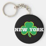 New York Irish Key Chain