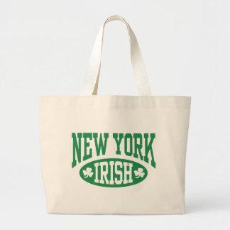 New York Irish Large Tote Bag