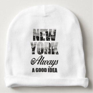 New York is Always a Good Idea Baby Beanie